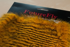 Short haired, barred rabbit - This FutureFly skin is perfect for cutting zonker strips