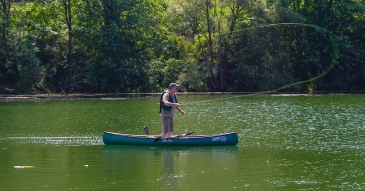 Fly Fishing with Solo Canoes | Global FlyFisher | Mike Hogue