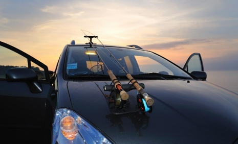 Car Rod Holders Global Flyfisher The Idea Behind The Rod Holder Is Simple It S A Special Made Device Which Allows You To Strap The Rods On The Outside Of The
