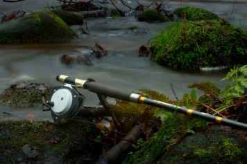 Delta 5 fly reel and Diplomat 850 fly rod