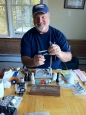 Bob Popovics - The father of the Fleye Foils and a renown US fly tyer