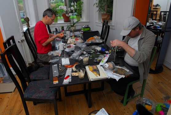 Fly tying weather - image -