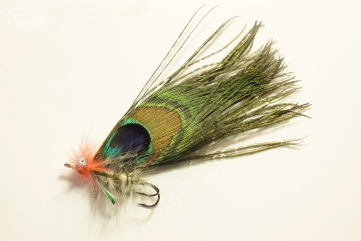 Peacock pike fly