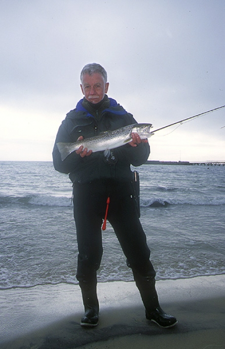 Joergen with a fish