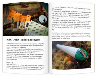 Optic Flies, pages