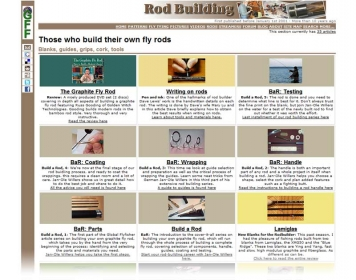 10) Rod building - Still popular