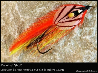 #156 Mickey\'s Ghost - A Mike Martinek pattern tied by Robert Galante