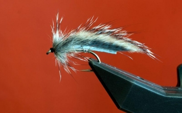 The finished Squirrel Zonker - A nice and neutral baitfish imitation