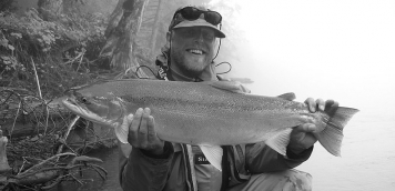Chromer - The steelhead of the Skeena are indeed beautiful fish! This is even a small one!