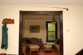 Side room.  Rivers Edge Guest House on the Little Juniata River, PA -