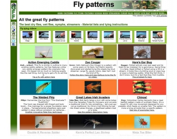3) Patterns - Ever popular, only surpassed by the videos.