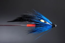The PET Blue NJ - A tube fly for salmon and sea trout.
