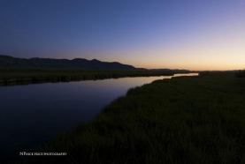 Silver Cree after sunset -
