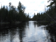 Au Sable River  - Depending on the stretch or branch, the prime waters tend to be 2-4 ft deep with sand or gravel bottoms and lots of wood, in the water and on shore.