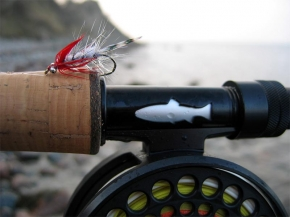 Blood Nosed Magnus - The signature fly for our podcasts - the Magnus with a red front hackle