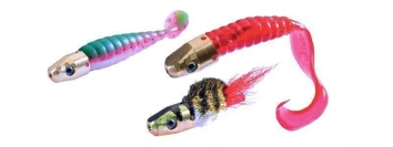 La Bornandine - Useful for both jigs and flies, the Bornandine combines a head and a tube