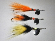 Bucktail spinners -