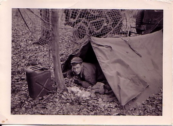 Crappy weather camper - The absolutely worst crappy weather camper in the World, me. Germany 1953.