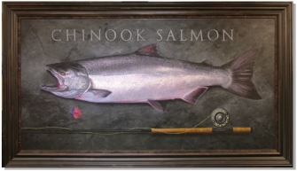 Chinook salmon -