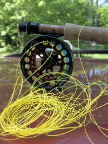 Tangle - Many shooting line are thin and tangle easily unlike ordinary fly lines
