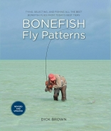 Book cover - The cover of Dick Brown\'s Bonefish Fly Patterns