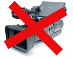 What I don't want - You are very welcome to use your camcorder, but avoid certain things if you want to please me.