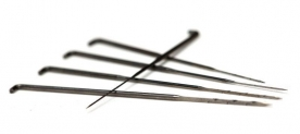 Dr. Paul\'s tube needles - Edged and serrated they are actually felting needles in disguise
