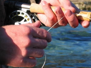 Handling - Some shooting lines are way thinner and smoother than normal fly lines.