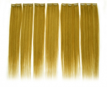 Hair extensions - Artificial human hair can be useful for large flies