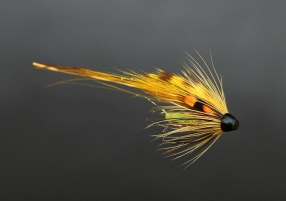 The Nize - A fly tied on tube scraps