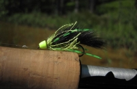 Green in the green - A Green Ronker ready for action on a Swedish lake