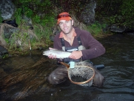 Henry's Fork rainbow - This Henry's Fork rainbow fell victim to a dead drifted FlutterStone
