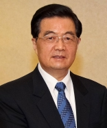 President Hu Jintao - The president of China - who most likely does not fly-fish...