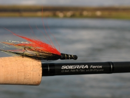German Snælda - A very popular variation of an even more popular fly: the Snelda. This version is used for deep fishing in dirty water.