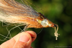 Well used - A tarpon fly after the action