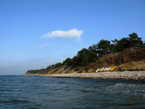 Spring is in the air - A nice stretch of coast in the spring sun