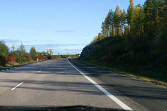 On the road again -