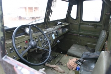 Leather interior - Capitalistic land-rover after Russian fitter's tuning