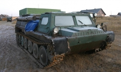 Ready for any challenge - Real Russian army land-rover