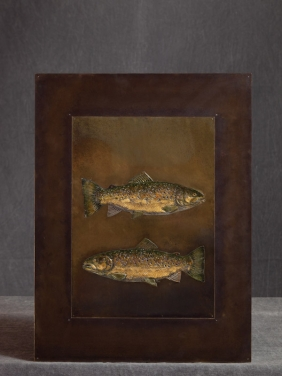 Two trout -