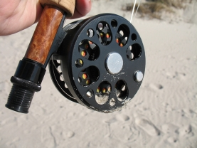 Sand! - My LAW reel sees a lot of sand, dirt, rocks and saltwater. It never complains