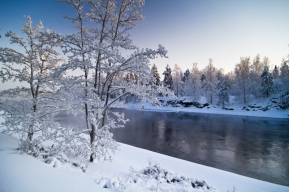 Winter study - Being in Finland Harri has access to some really beautiful winter landscapes