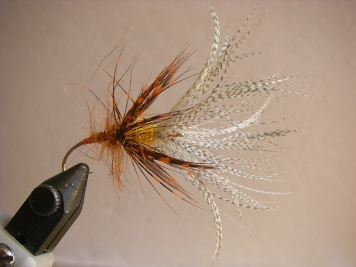 Step 25 - job done! - The finished fly, ready to catch some fish