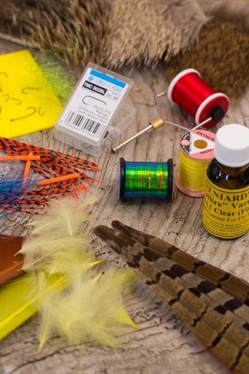 Fly-tying materials -