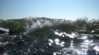 Woot! - Shots like this are definitely safest to shoot with a waterproof camera