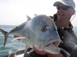 Artist and kingfish -