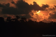 Evening in the jungle - Another epic sunset in central America