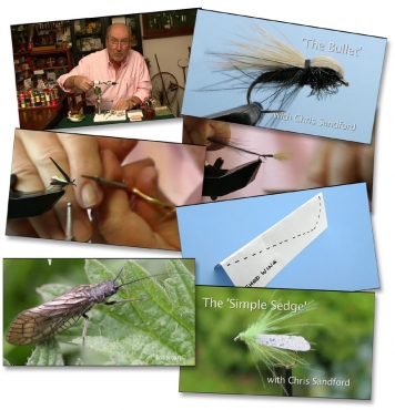 Mayflies and More - Video grabs from Chris Sandford\'s DVD