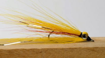 Mickey Clouser - A Clouser Deep Minnow tied in Mickey Finn colors