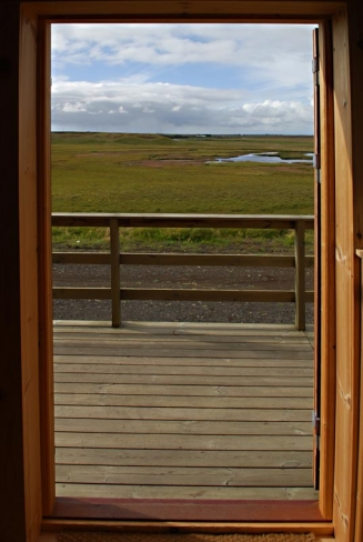 Room with a view - Open the bedroom door at the lodge and see this. Hard to complain, isn't it?